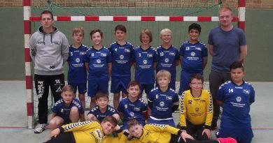 E-Jugend mit letzten Saisonspiel