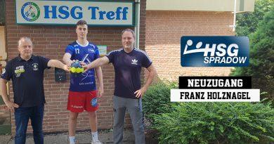 Franz Holznagel entscheidet sich für die HSG Spradow