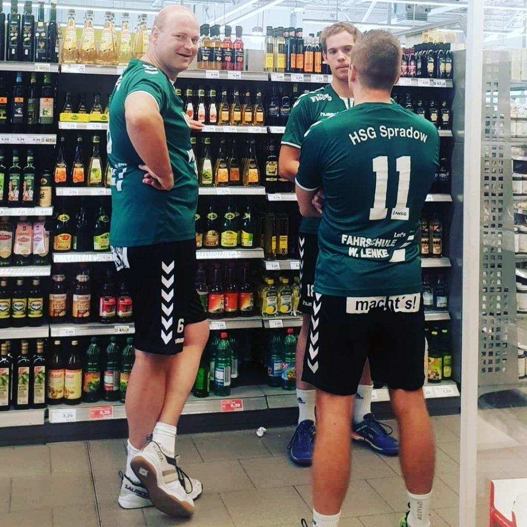 Marius Oebke Malte Langer Gunnar Heise können sich über den Plan des Verbandes freuen
